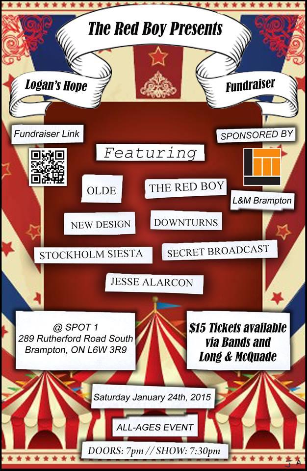 Red Boy Logan fundraiser