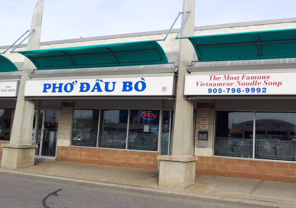 Pho Dau Bo Outside