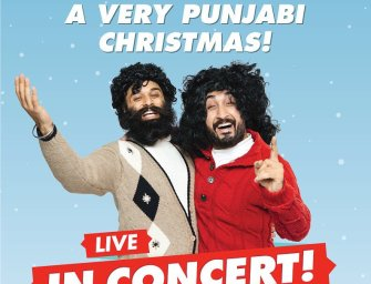 "JusReign & Babbu Live In Concert at Rose Theatre In Brampton On Dec 20th With ""A Very Punjabi Christmas"""