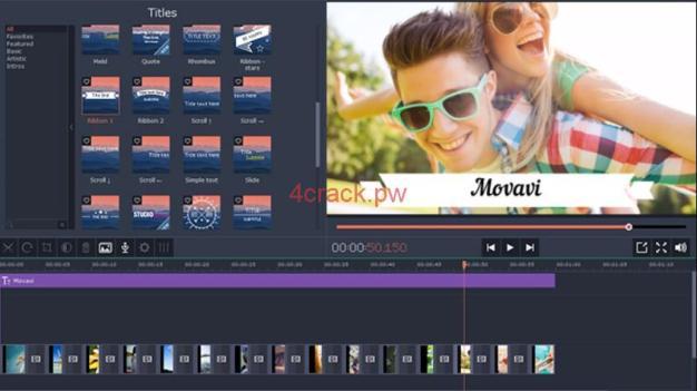 Movavi Video Editor 14 Crack and Keygen