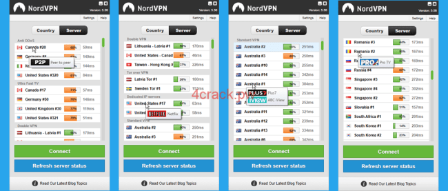 Nordvpn 6.23.11.0 Crack With Serial key+APK  For Windows and Android [Latest]