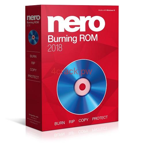 Nero Burning ROM 2018 Serial Key and Crack Free Full Version