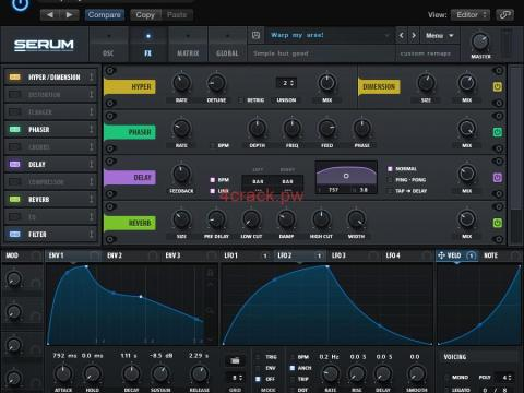 Xfer Serum VST 2020 Crack Full Free Version Download [100% Working]