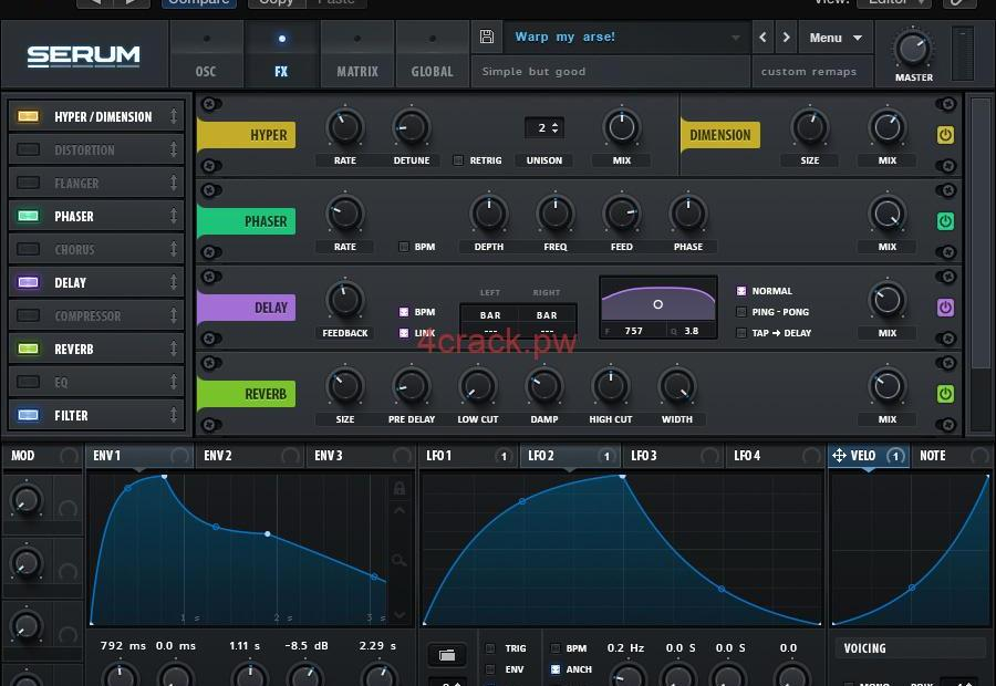 Xfer Serum VST 2020 Crack With Serila key Full Download