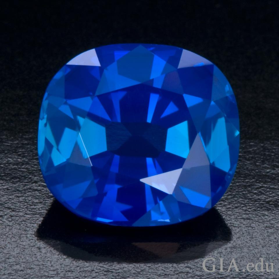 3.08 ct unheated Kashmir sapphire