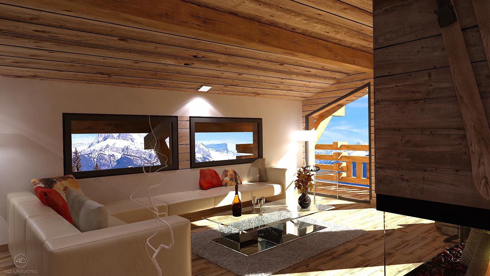 Design D\'intérieur Salon   Architecture Interieur Salon ...