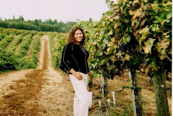 Guadalupe in vineyard
