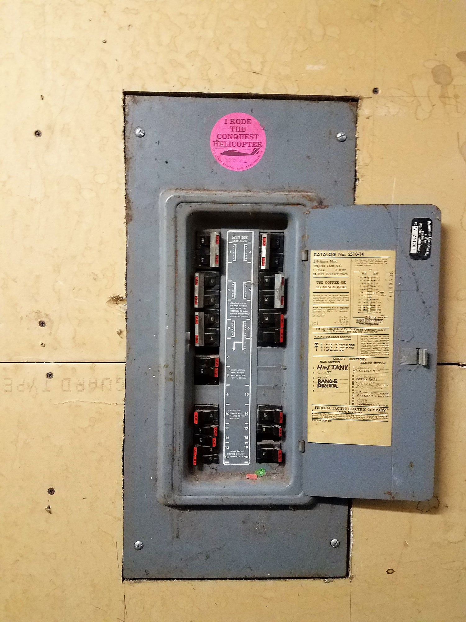 hight resolution of does your home have a federal pacific breaker panel