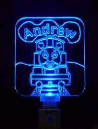 Thomas The Train Night Light, Different Colored LED Lights
