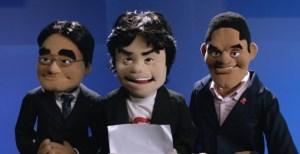 Nintendo E3 Puppets