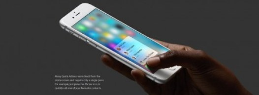 iPhone 6S touch