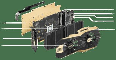 Asus gold 980ti breakdown