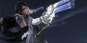 Smash Bros 3DS Bayonetta