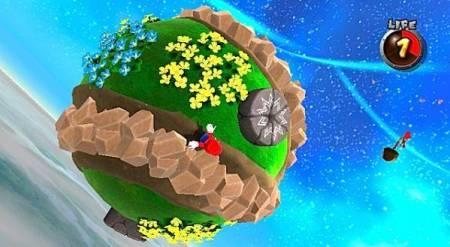 Mario Galaxy planet