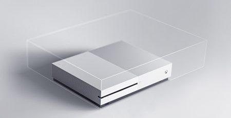 Xbox One S 40 samller