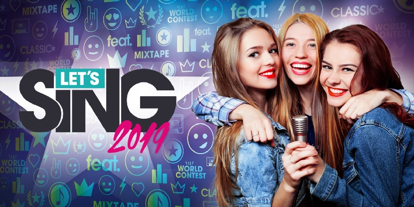 Let's Sing 2019 out now on PS4, Wii and Switch