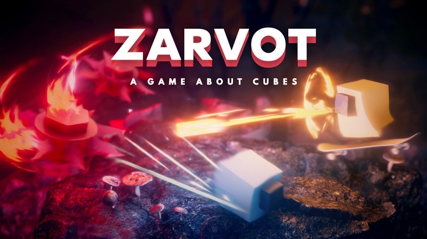 Arcade cube game Zarvot out now on Switch
