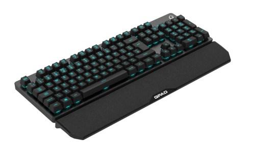 QPAD MK-40 keyboard