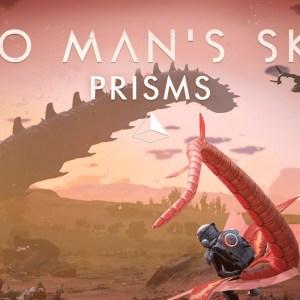 No Man's Sky Update 3.5; Prisms goes live