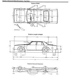 restraint system 2007 lexus es350 exterior vehicle and body dimensions  [ 2550 x 3300 Pixel ]
