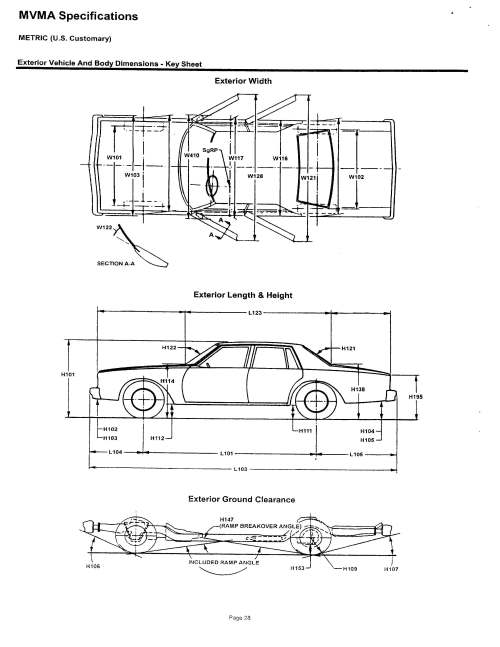 small resolution of restraint system 2007 lexus es350 exterior vehicle and body dimensions
