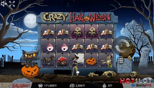 crazy halloween игровой автомат