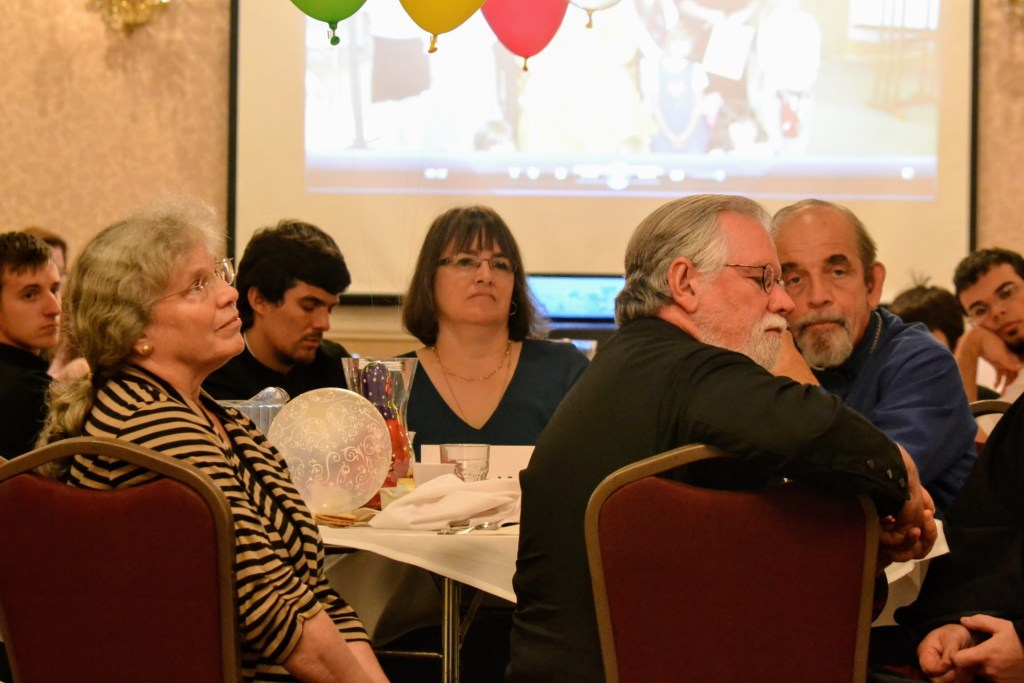 Khouria Frederica Mathewes-Green, Matushka Katherine Toroney, Fr. Gregory Mathews-Green, and Fr. Joseph Toroney — 10th Anniversary Reception and Luncheon
