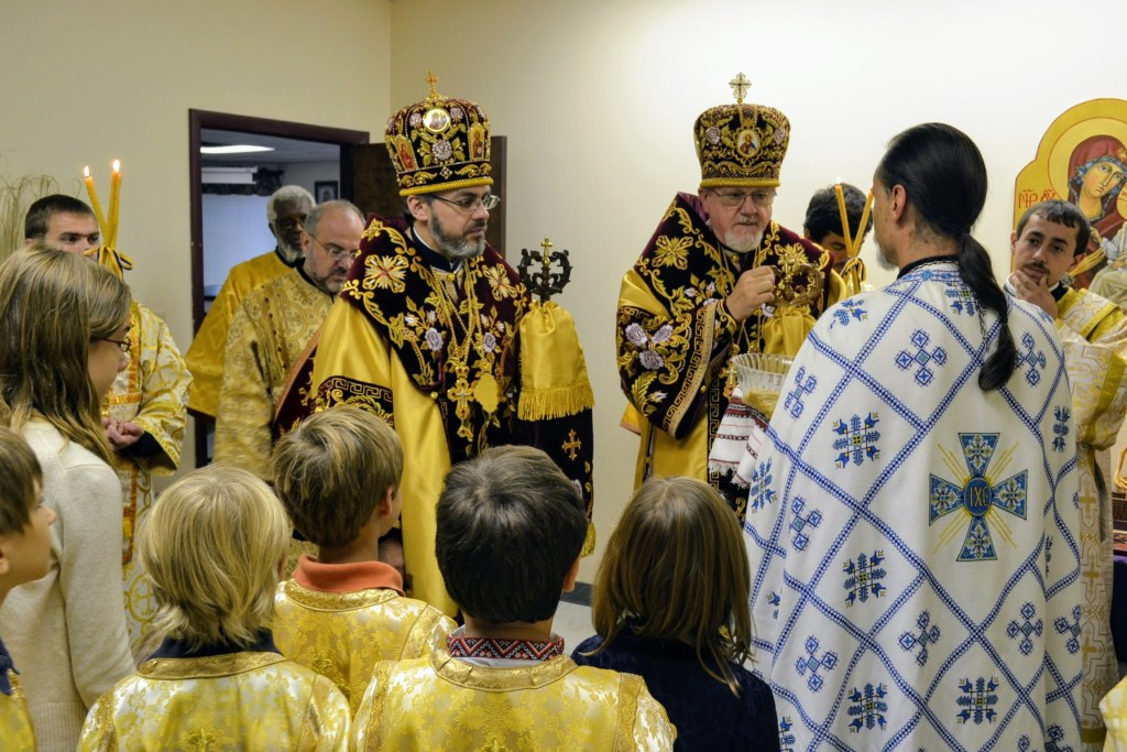 Reception of Hierarchs, Hierarchical Divine Liturgy — 10th Anniversary