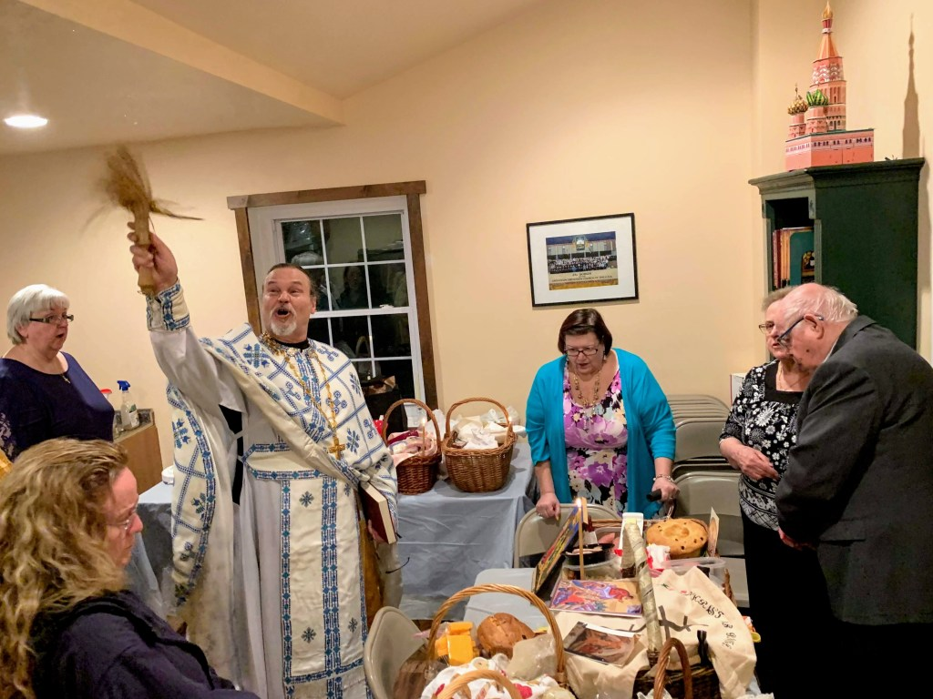 Blessing of Pascha Baskets - Great and Holy Pascha, 2019