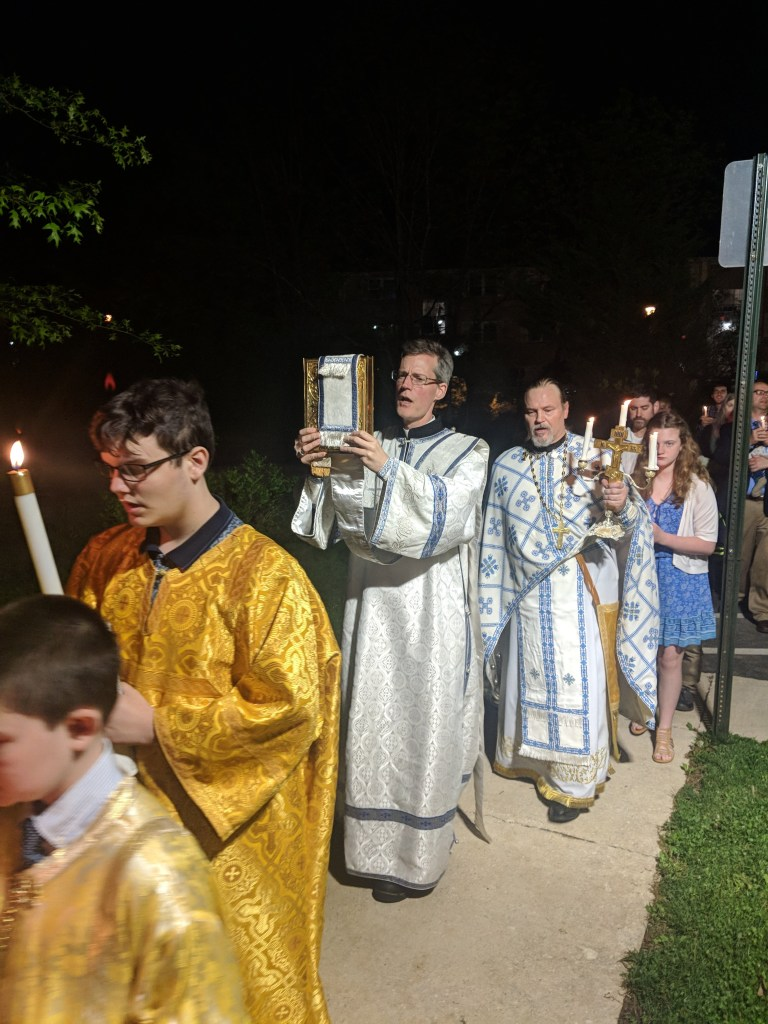 Midnight Office w/ Procession - Great and Holy Pascha, 2019