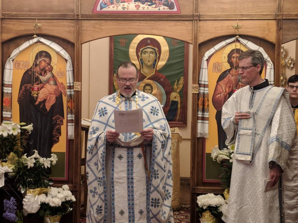 Reading of St. John Chrysostom's Easter Homily, Paschal Matins - Great and Holy Pascha, 2019