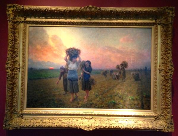 Song of the Lark Painting Jules Breton