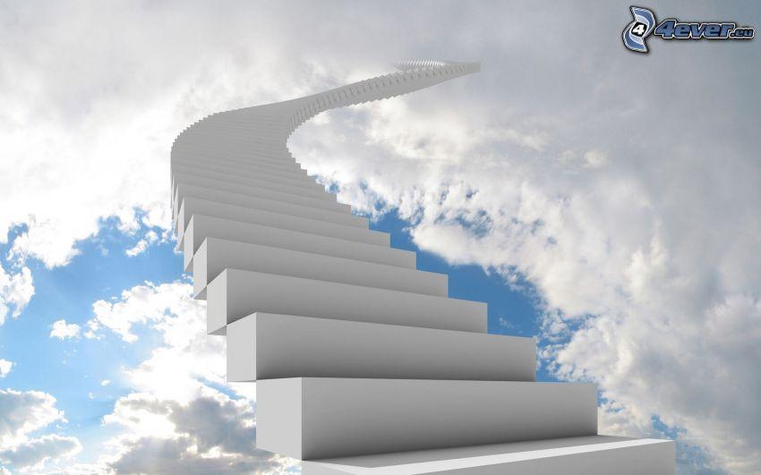 Resultado de imagen de escalera al cielo