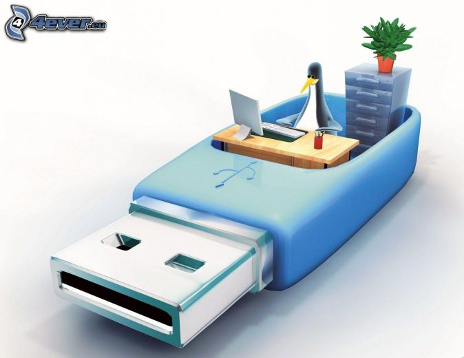 USB'den boot etme