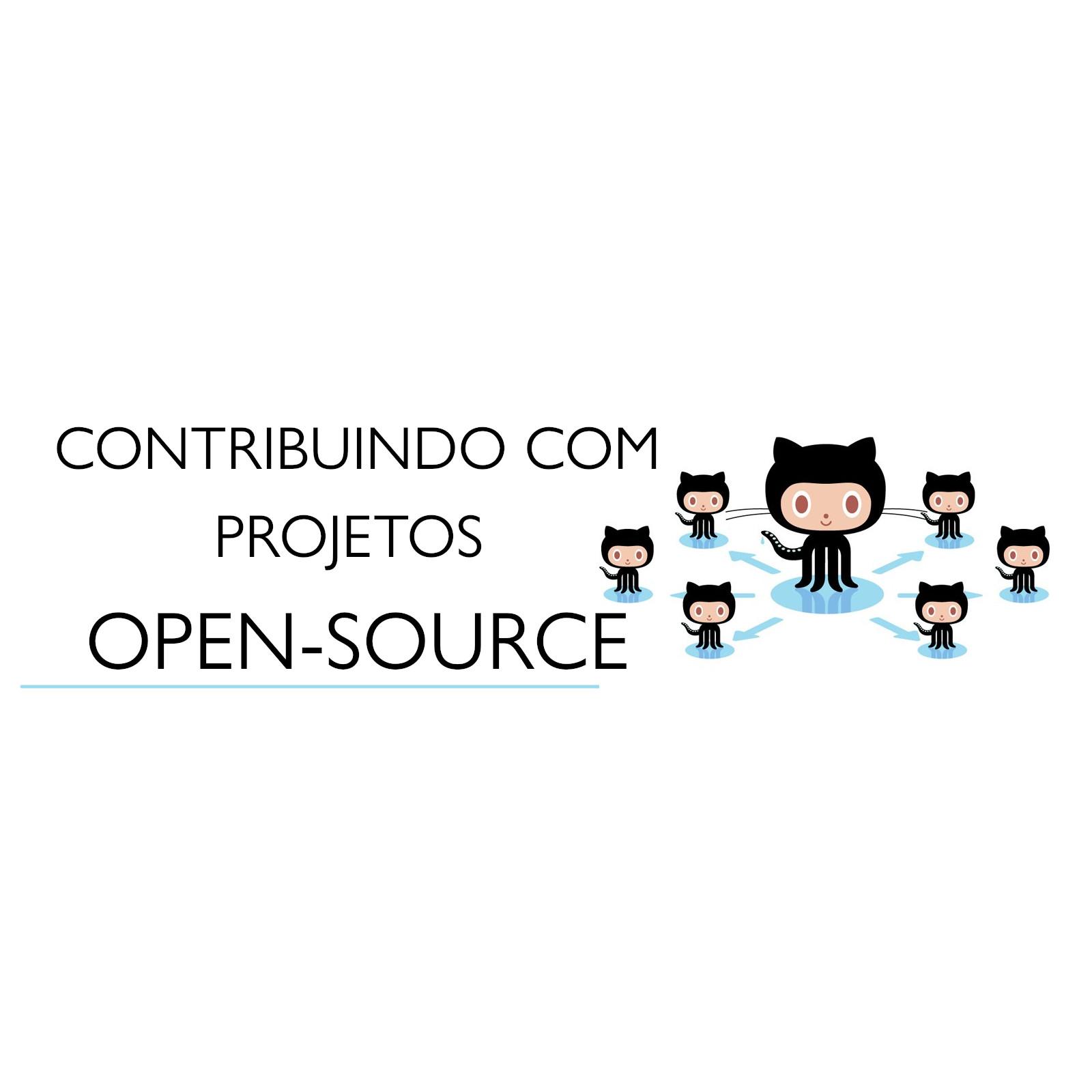 Minha PRIMEIRA CONTRIBUIÇÃO para um projeto OPEN-SOURCE