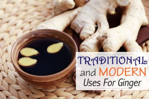 Traditional uses for ginger