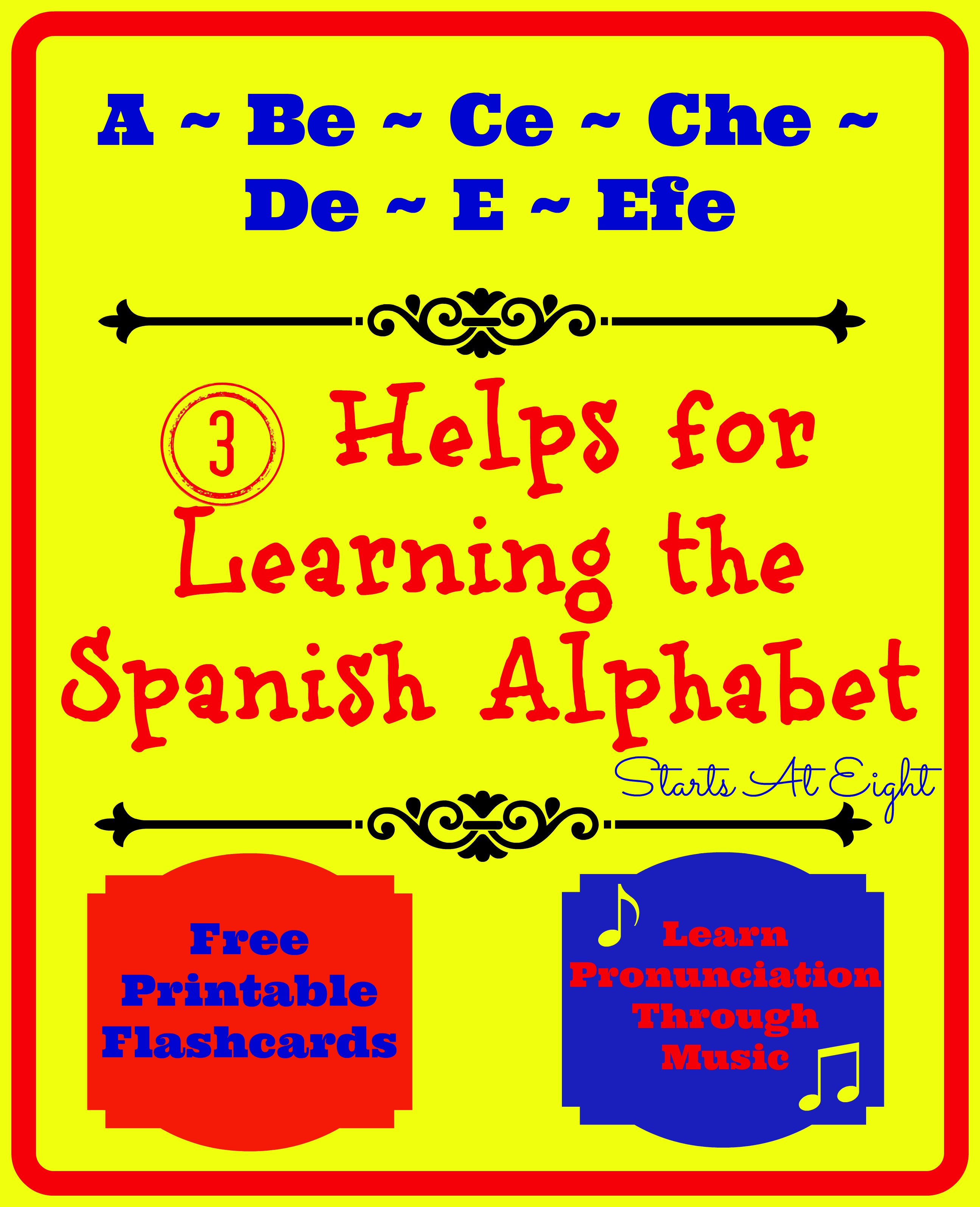 Printable Spanish Flashcards