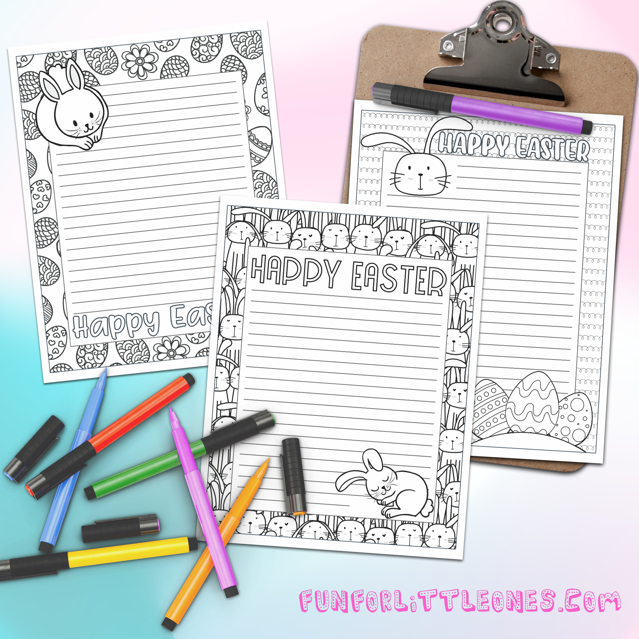 Free Printable Easter Stationery