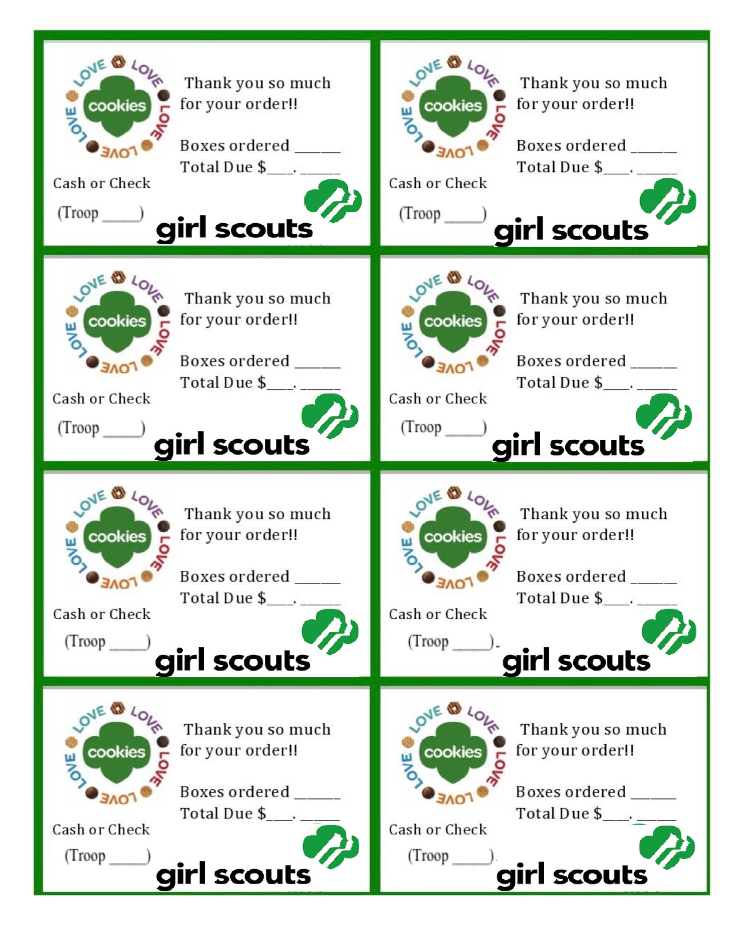 Free Printable Eagle Scout Thank You Cards