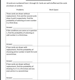 Probability With Spinners Worksheet   Printable Worksheets and Activities  for Teachers [ 2161 x 1600 Pixel ]