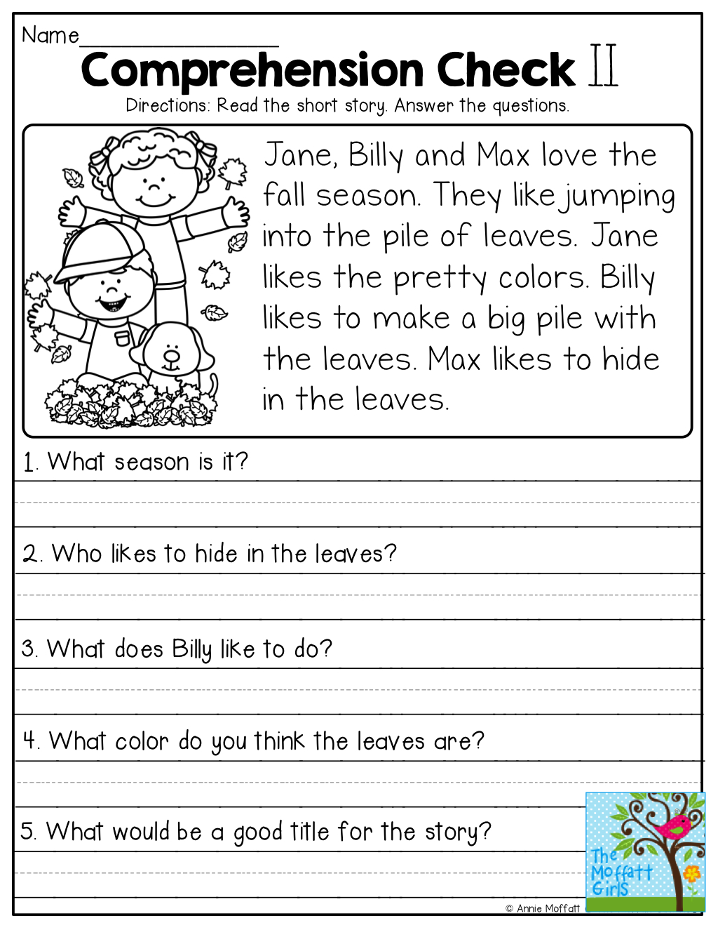 hight resolution of 3rd Grade Reading Comprehension Free Printable Worksheet   Printable  Worksheets and Activities for Teachers