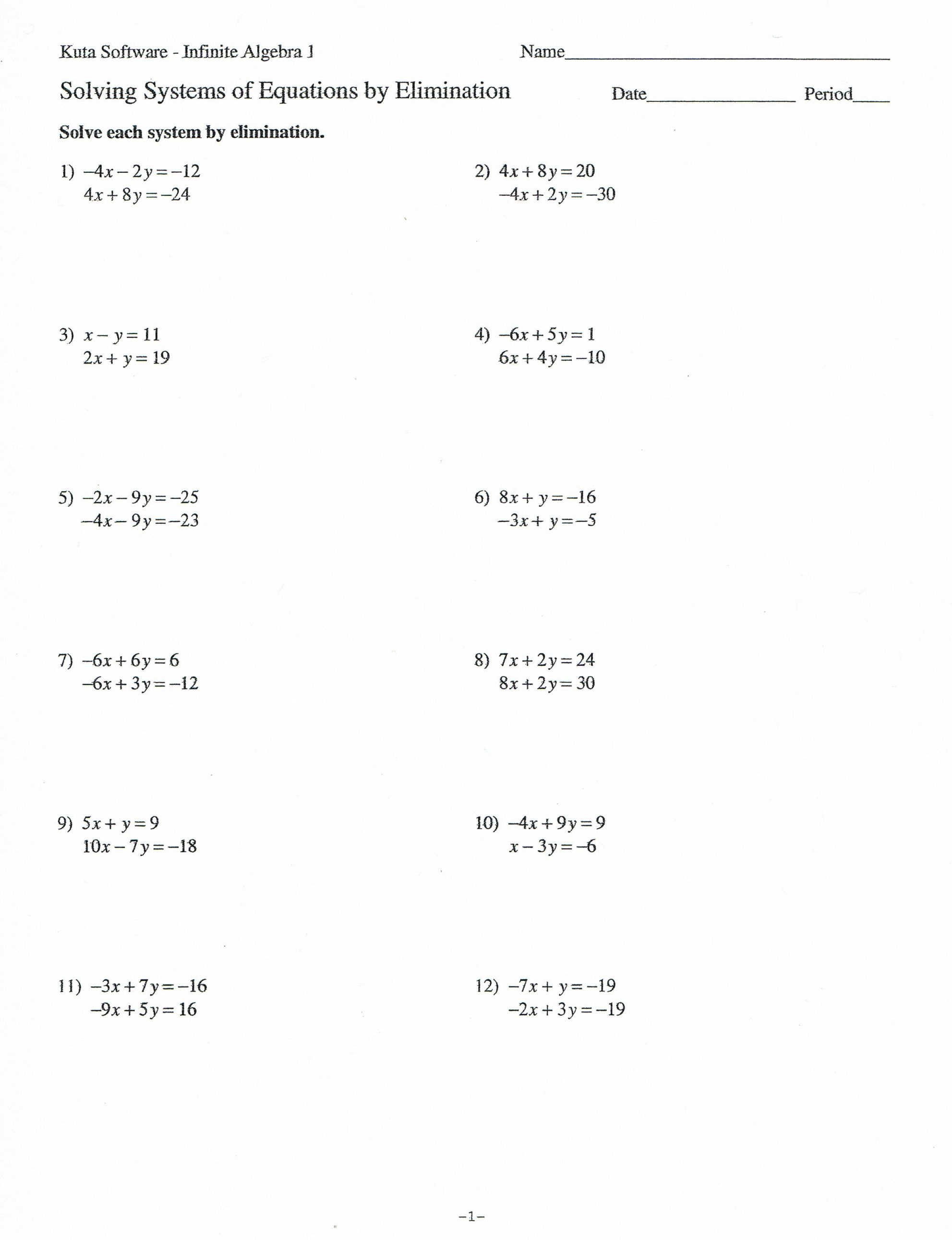 Free Printable Distributive Property Worksheets
