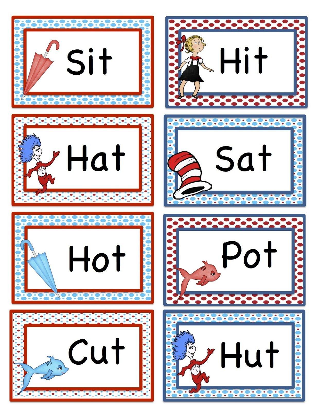 Free Printable Dr Seuss Math Worksheets