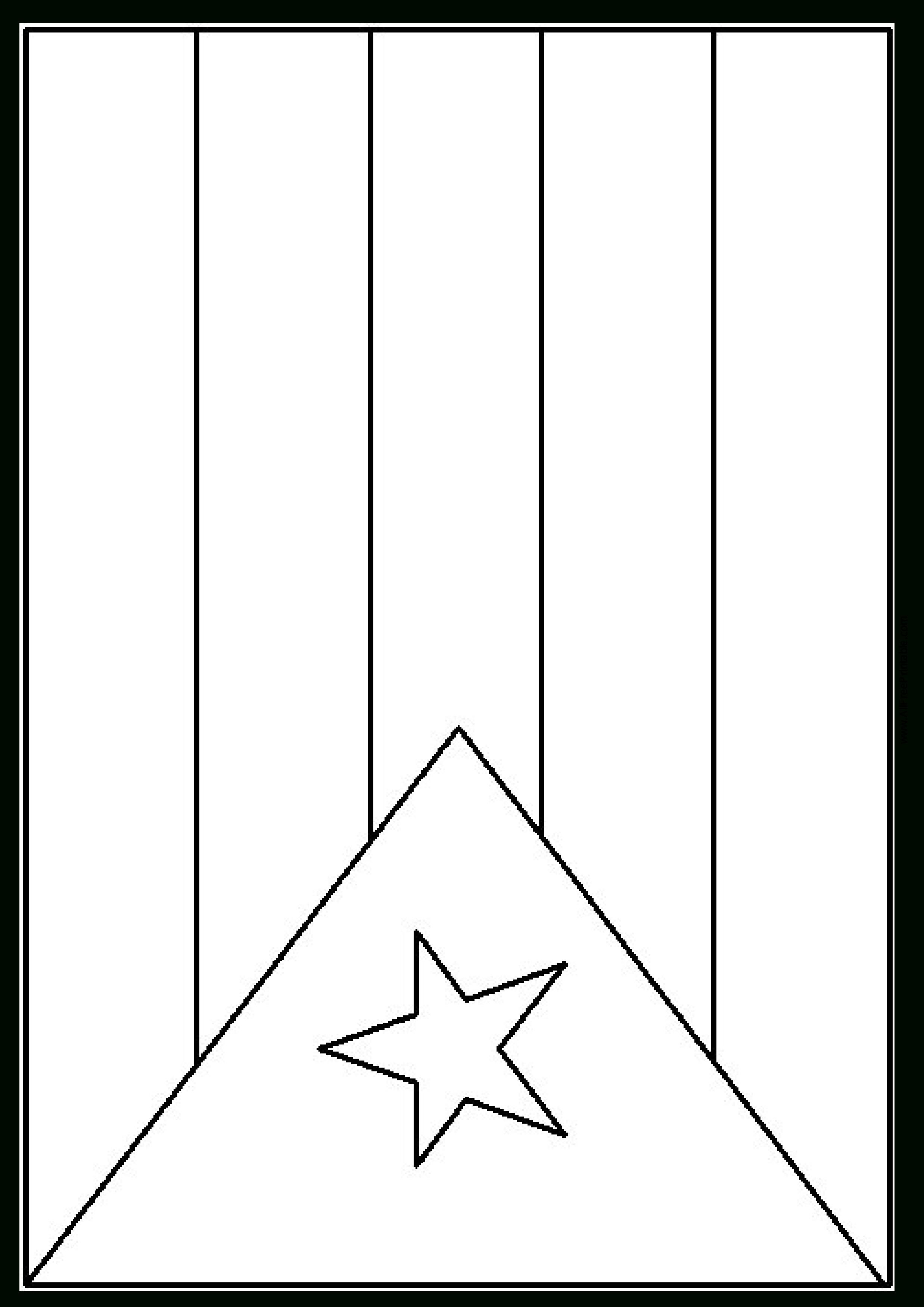 Free Printable Blank Flag Template