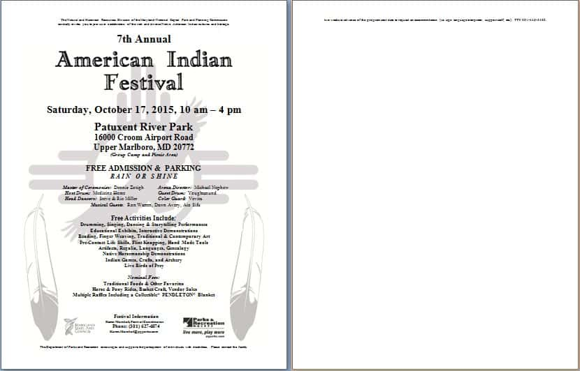7th Annual American Indian Festival