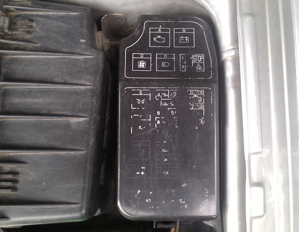 1998 Suzuki Esteem Fuse Box Diagram