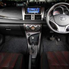 Harga New Yaris Trd Sportivo 2014 Agya 1.2 A/t All Toyota Resmi Ngaspal Terendah 219 Juta Dashboard