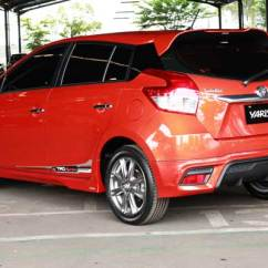 Harga Toyota New Yaris Trd 2014 All Alphard 2019 Resmi Ngaspal Terendah 219 Juta Lampu Belakang