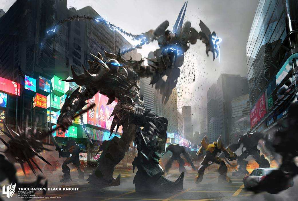Dinobots Concept dari Transformers 4  Age of Extinction