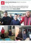 Kedatangan Pedrosa di Indonesia